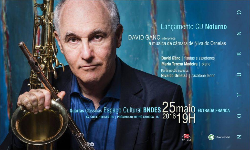 CD Noturno - David Ganc interpreta a música de câmara de Nivaldo Ornelas